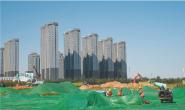 唐山人民公园项目建设工地一片繁忙(图)