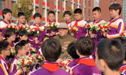 视频|抗美援朝老战士寄语唐山学子:中华儿女一定要为祖国争光!