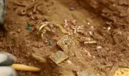 考古新发现!九层妖塔原型古墓出土大量精美金银器