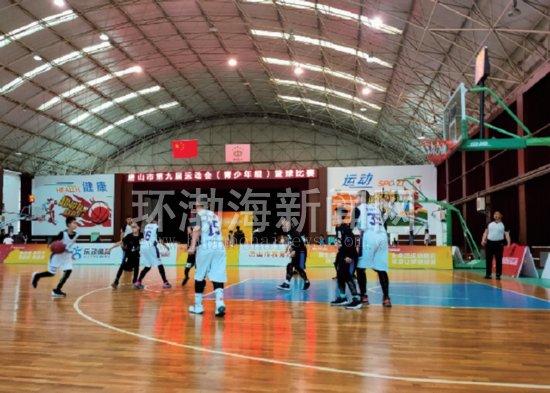 路南区青少年篮球队获得这项赛事冠军_路南+_唐山环渤海新闻网